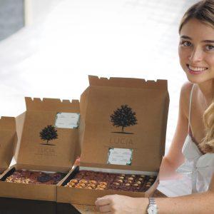 64-Piece Brownie Box